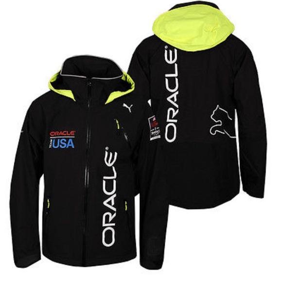 neue angebote zarte Farben bester Preis Men's Team USA Oracle Reflective Sailing Jacket.